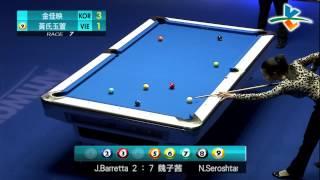 G Y  Kim (Korea) VS N T N Huynh (Vietnam) -2014 Amway Espring Women's World 9 Ball Open