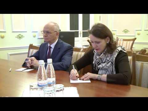 Igor Dodon s-a întîlnit cu Farit Muhametşin