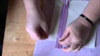 Video How to Make a Zipper Pocket (Inside Purse Pocket) MP3, 3GP, MP4, WEBM, AVI, FLV Desember 2018