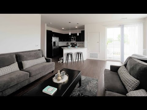 Tour a 1-bedroom with a balcony at Bolingbrook's new Brook on Janes apartments