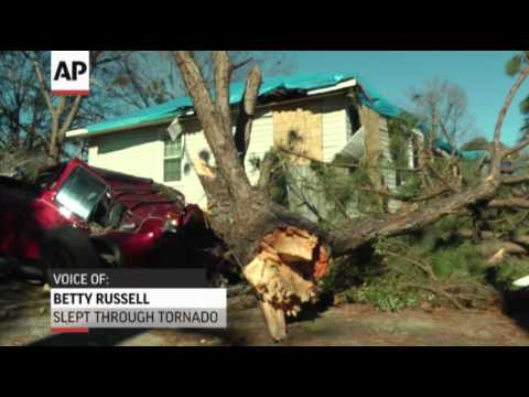 Woman Sleeps Through Tornado in Alabama, Storm Rips off Her Roof