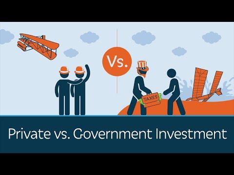 Proč vládní investice nefungují a soukromé ano