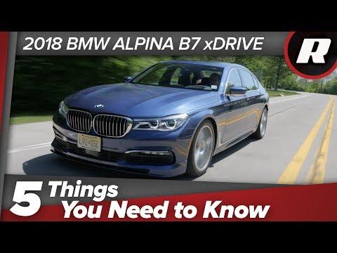 Things To Know BMW Alpina B XDrive By Roadshow - 2018 bmw alpina b7 xdrive