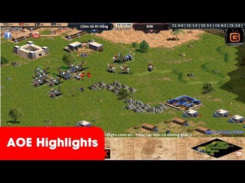 AOE HighLights -  Bài xấu nhưng CSDN khắc phục và tấn công quá cống hiến để giết chết bài maxping