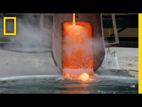 When Magma Meets Water | Breakthrough (видео)