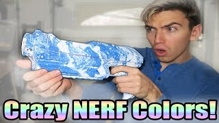 HYDRO DIPPING NERF GUN! (How to Hydro Dip - EASY)