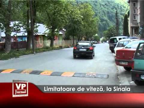 Limitatoare de viteză, la Sinaia