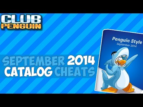Club Penguin: September 2014 School and Skate Clothing Catalog Cheats