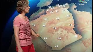 Prévisions météorologiques - 13 août 2020