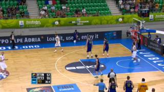 Block of the Game V. Kravtsov Belgium-Ukraine EuroBasket 2013