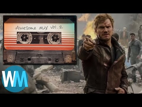 "Top 10 Songs from the ""Guardians of the Galaxy"" Awesome Mixes!"