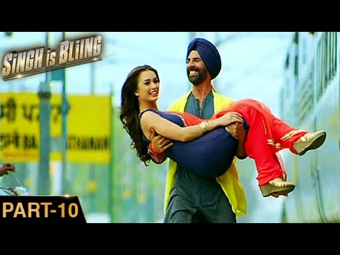 Singh Is Bliing (2015) | Akshay Kumar, Amy Jackson, Lara | Hindi Movie Part 10 of 10 | HD 1080p