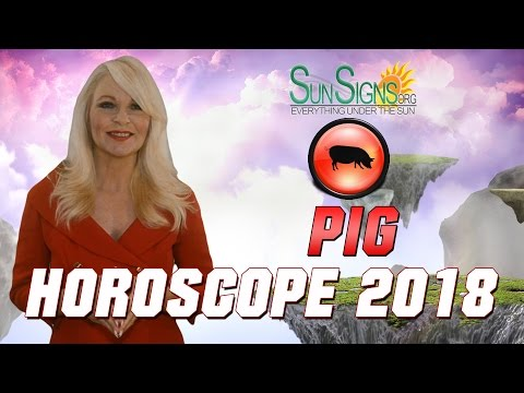 Pig Horoscope 2018 Predictions