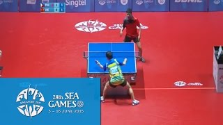 Download Video Table Tennis Men's Singles Philippines vs Vietnam | 28th SEA Games Singapore 2015 MP3 3GP MP4