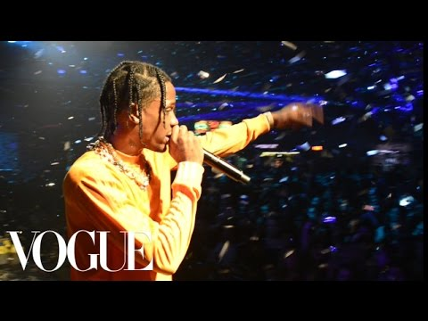 Travis Scott's Fashion Week Ride Is a Helicopter | Getting Ready | Vogue