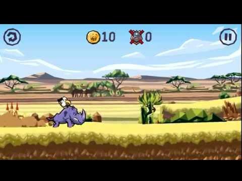 WWF Rhino Raid - Android Gameplay