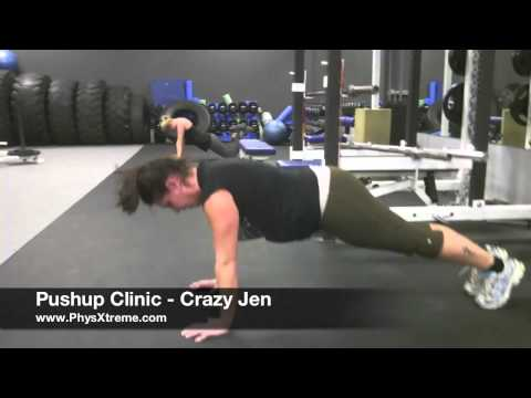 0 A Pushup Clinic By The PhysXtreme Chicks!