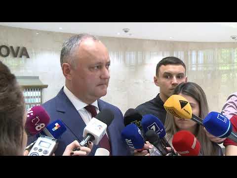 Șeful statului și-a expus poziția cu privire la scenariile posibile de evoluare a situației curente din țară