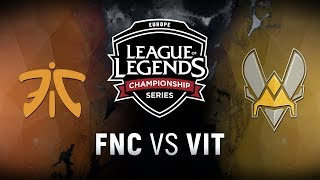 Video FNC vs. VIT - Semifinals Game 4 | EU LCS Spring Playoffs | Fnatic vs. Team Vitality (2018) MP3, 3GP, MP4, WEBM, AVI, FLV Juni 2018