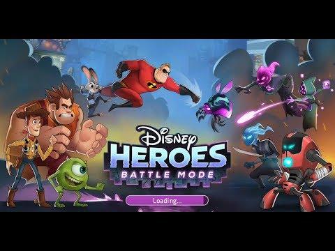 《Disney Heroes: Battle Mode》手機遊戲玩法與攻略教學!