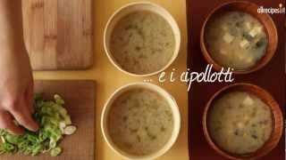 Zuppa di miso giapponese