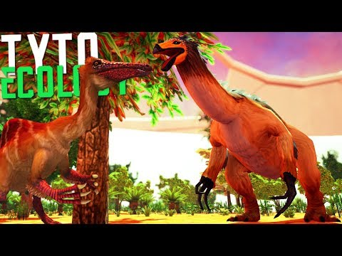 Tyto Ecology - Dinossauros No Deserto, Criando Um Mundo!  Dinossauros (PT-BR)