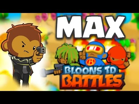 Bloons TD Battles | MAX LEVEL COBRA! OMG EPIC TROOP! | BTD Battles Maxed Out Gameplay