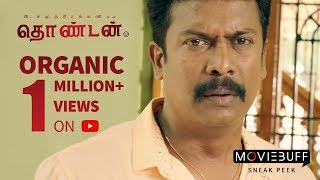 Video Thondan - MovieBuff Sneak Peek | P Samuthirakani, Vikranth, Sunainaa MP3, 3GP, MP4, WEBM, AVI, FLV Januari 2018