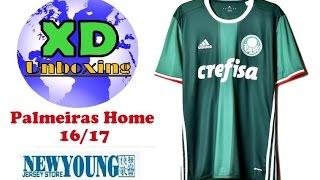 Camisa Palmeiras Home 16/17 - Unboxing Aliexpress. Valor: U$ 16,00 Tributado – NÃO. ATENÇÃO:...