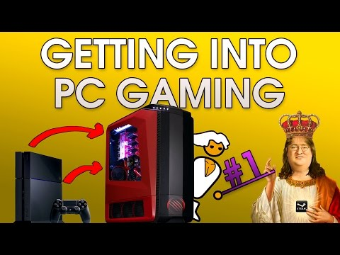Getting Into PC Gaming #1: Introduction, Positives and Fake Negatives