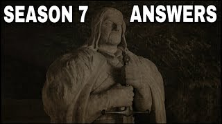 Now that Game of Thrones Season 7 Episode 1 is over people have been asking what will during Game of Thrones Season 7 Episode 2 and beyond. In this video I answer as many questions as I can. Where is Gendry? Where is Bronn? Does Jon Snow have a connection with the Night King? Did Sansa want the Karstark & Umber children killed? How big is Nymeria's wolf pack? What episode is the Field of Fire 2.0 and so much more! Thanks for stopping by and watching the video! Images from Game of Thrones are property of their creators, used here under fair use. Support the channel on Patreon here! https://www.patreon.com/TalkingThronesFollow me on Twitter here! https://mobile.twitter.com/Talking_ThronesSpecial thanks to my Patreon Supporters for everything that you continue to do!