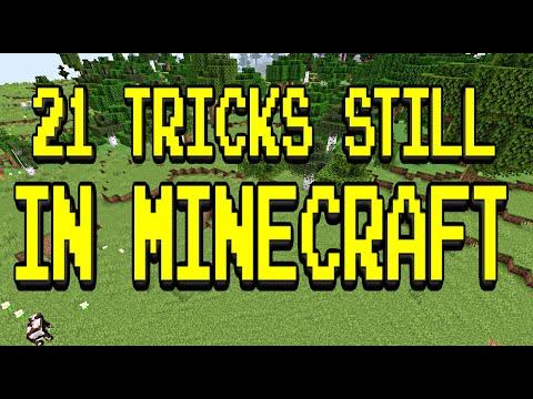 21 Tricks that STILL work in 2021 Minecraft!