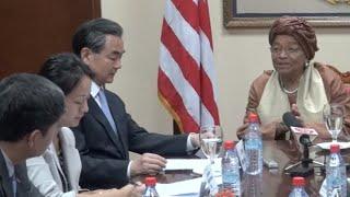 China Pledges More Aid to Liberia Post Ebola