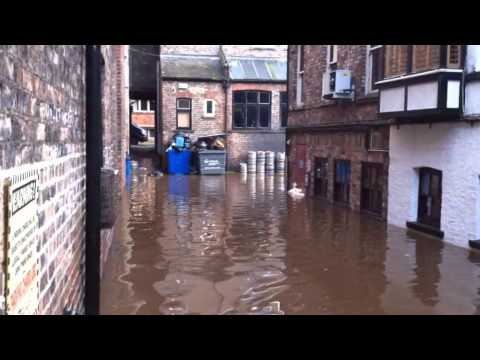 york - Not the worst flooding the city has ever seen but still quite bad and certainly the most worrying for a while. These are the scenes in York City centre by th...