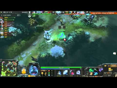 The Alliance vs Team VirtusPro Game 2  DOTA 2 Champions League   TobiWan & Maelk