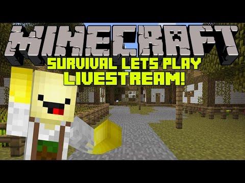 ♣ Minecraft | Survival | Lets Play | Livestream!