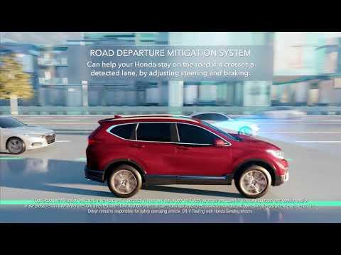 Honda CRV 2020 with Honda Sensing standard