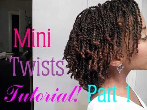 Mini Twist On Short Hair
