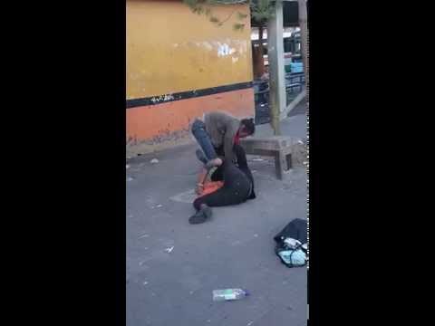 Druggie fight cape town