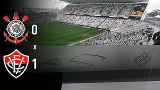(VLOG 37) Corinthians 0 x 1 Vitória(BA) perdemos a invencibilidade mas o apoio da fiel isso continua invicto, segue o líder.