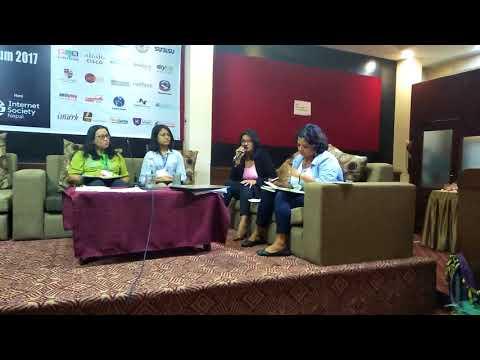 (Nepal Internet Governance Forum, Sunaina Pandey - Duration: 7 minutes, 48 seconds.)