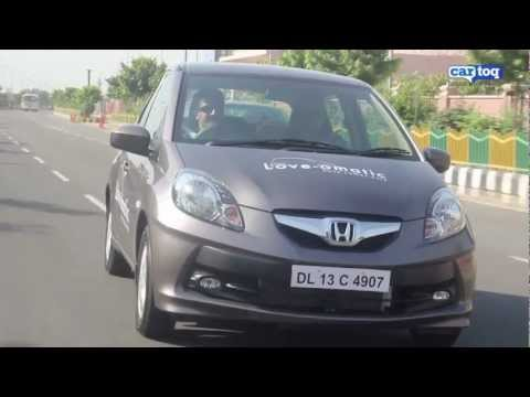 Honda Brio Automatic Video Review and Road Test by CarToq.com
