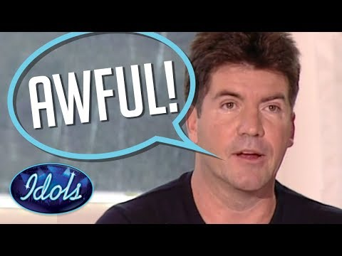 WORST & Funniest Auditions EVER HEARD On American Idol Season 1 | Idols Global