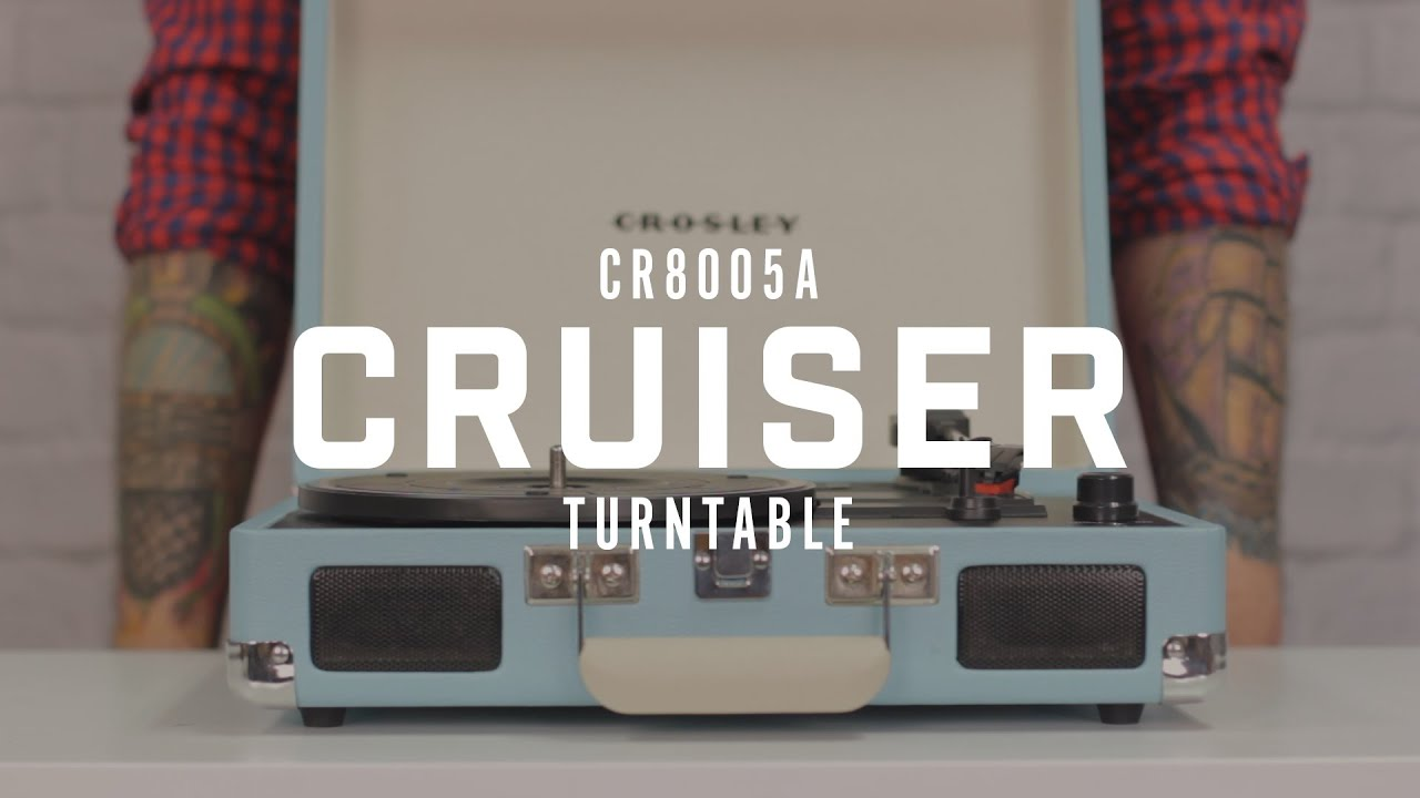 Cruiser Portable Turntable Crosley Radio Car Wiring Diagram Built In Speakers Can Music Share The Old Fashioned Way Or Have One On Jams With Headphone Jack Choose From A Rainbow Of Sound To Start Your Vinyl