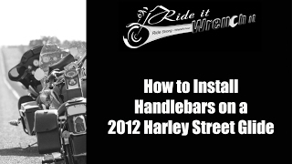 10. How to Install Handlebars on a 2012 Harley Street Glide