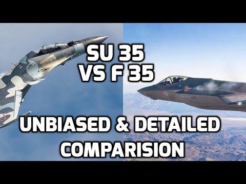 Vergelijking F35A - SU35