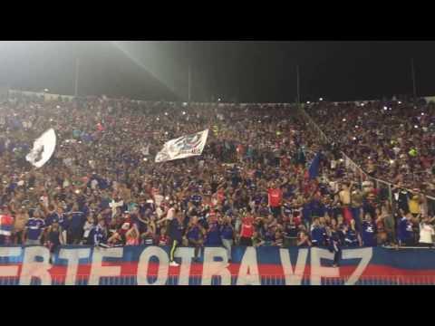"""Los de Abajo - U de Chile vs Unión Española 2017, """"Y mis hijos vendrán"""" celebración fi - Los de Abajo - Universidad de Chile - La U - Chile - América del Sur"""