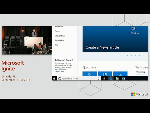 Better teamwork together: SharePoint and OneDrive integration with Microsoft Teams - BRK2102