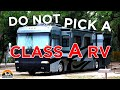 19 Reasons to Choose a Class C and not a Class A RV!