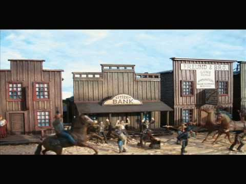 Wild west city diorama model kit 1 72 scale my flat pack for Kit west homes
